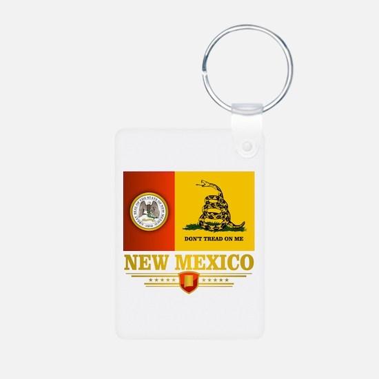 New Mexico Gadsden Flag Keychains