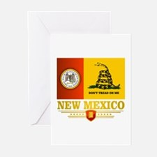 New Mexico Gadsden Flag Greeting Cards