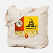 New Mexico Gadsden Flag Tote Bag