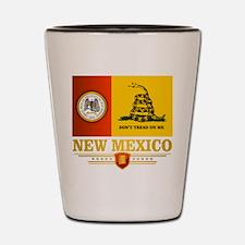 New Mexico Gadsden Flag Shot Glass