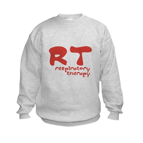 Respiratory Therapy - Athleti Kids Sweatshirt