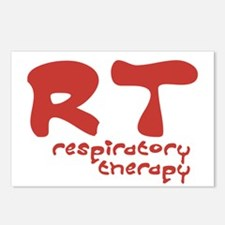 Respiratory Therapy - Athleti Postcards (Package o