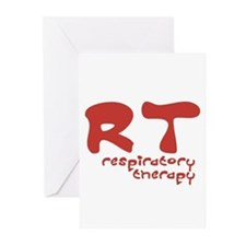 Respiratory Therapy - Athleti Greeting Cards (Pack