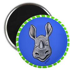 Rhinocircles Magnet