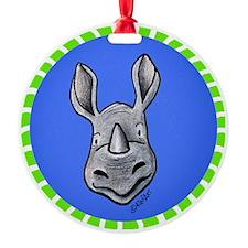 Rhinocircles Ornament