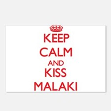 Keep Calm and Kiss Malaki Postcards (Package of 8)