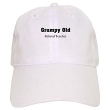 grumpy old retired teacher Baseball Baseball Cap