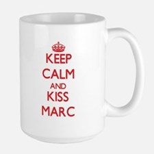 Keep Calm and Kiss Marc Mugs