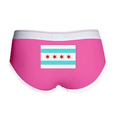 Chicago Flag Women's Boy Brief