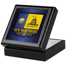 New Hampshire Gadsden Flag Keepsake Box