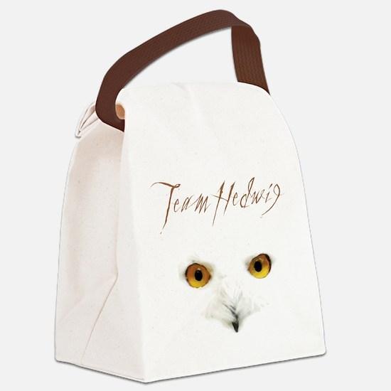 Team Hedwig Canvas Lunch Bag