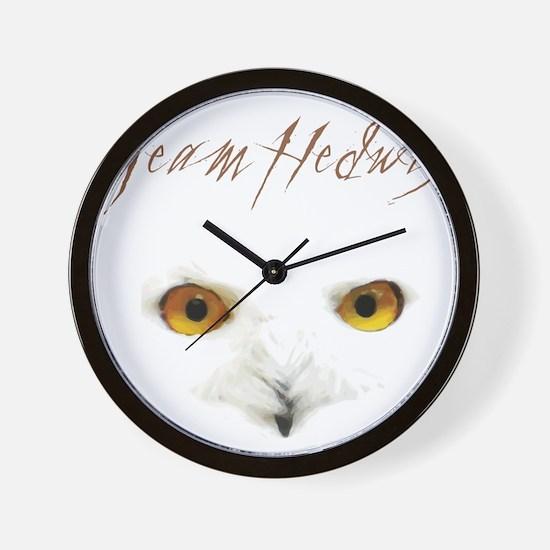 Team Hedwig Wall Clock