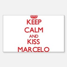 Keep Calm and Kiss Marcelo Decal