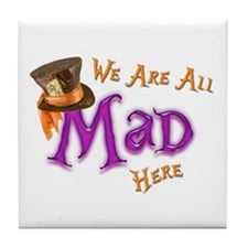 All Mad Tile Coaster