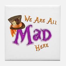 All Mad Tile Coaster