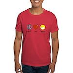 Peace.Love.Braces Dark T-Shirt