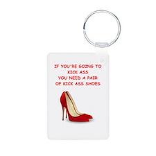red high heels Keychains