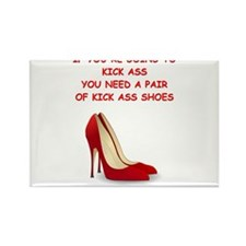 red high heels Magnets