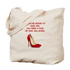 red high heels Tote Bag
