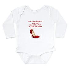 red high heels Body Suit