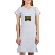 sick nun joke Women's Nightshirt