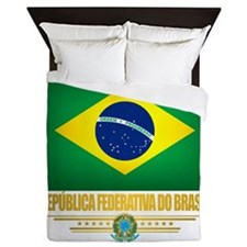 Flag of Brazil Queen Duvet
