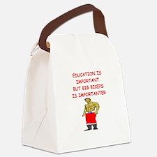 dumb jock Canvas Lunch Bag