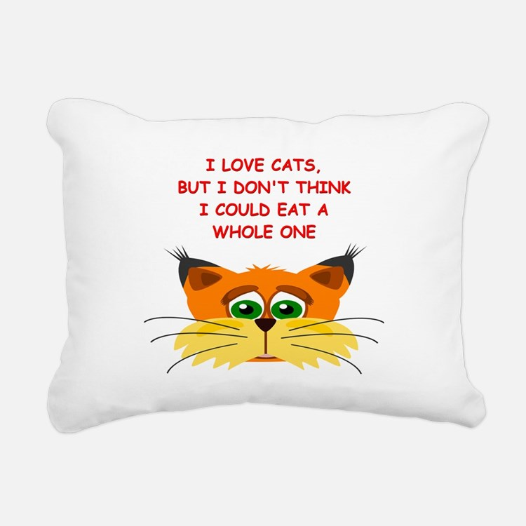 CATS4 Rectangular Canvas Pillow