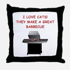 CATS1 Throw Pillow