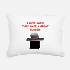 CATS2 Rectangular Canvas Pillow