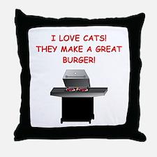 CATS2 Throw Pillow