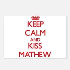 Keep Calm and Kiss Mathew Postcards (Package of 8)