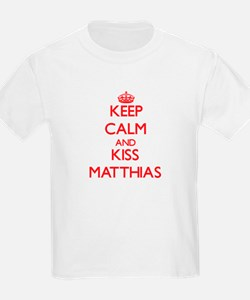 Keep Calm and Kiss Matthias T-Shirt