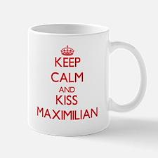 Keep Calm and Kiss Maximilian Mugs