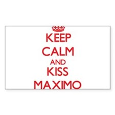 Keep Calm and Kiss Maximo Decal