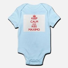 Keep Calm and Kiss Maximo Body Suit