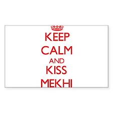 Keep Calm and Kiss Mekhi Decal