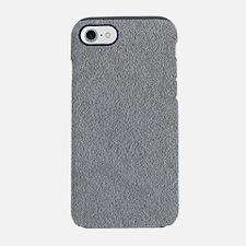 Greyscale Silvertone Concrete iPhone 7 Tough Case