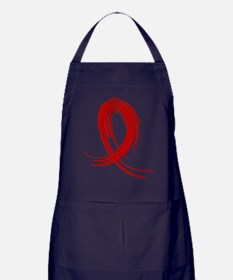 Vasculitis Graffiti Ribbon 2 Apron (dark)