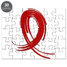 Vasculitis Graffiti Ribbon 2 Puzzle