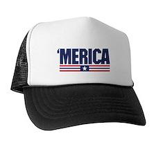 Merica Cap Trucker Hat
