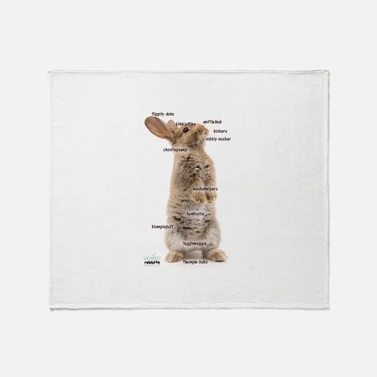 Bunny Bits Throw Blanket