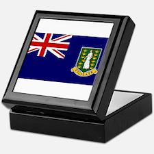 The British Virgin Islands Keepsake Box