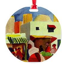 Macke - Market in Algiers Ornament