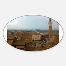 Cute Siena Sticker (Oval)