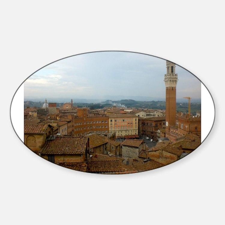 Cute Siena Sticker (Oval)