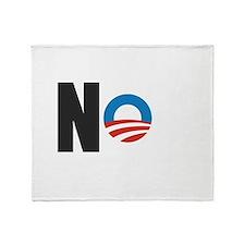 Nobama Throw Blanket