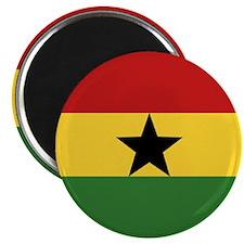 """""""Ghana Flag"""" 2.25"""" Magnet (100 pack)"""