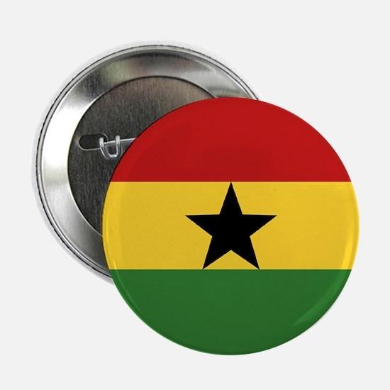 """""""Ghana Flag"""" Button"""