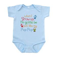 Pop Pop grandchild gift Body Suit